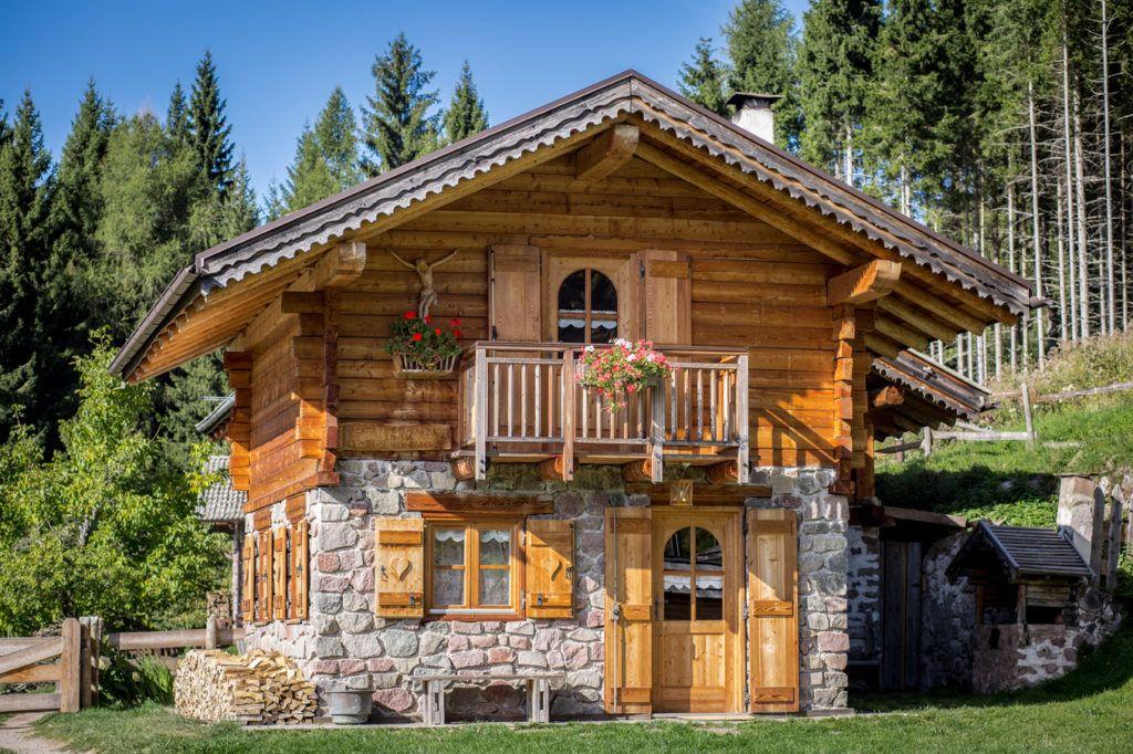 Vacanza in baita in Trentino sull\'altopiano di Pinè